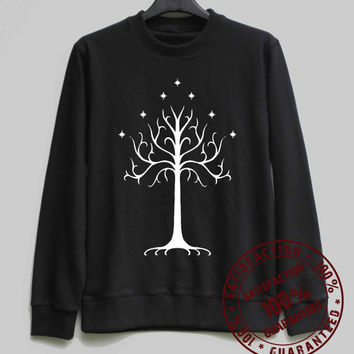 White Tree of Gondor Shirt Sweatshirt Sweater Hoodie Shirt – Size XS S M L XL