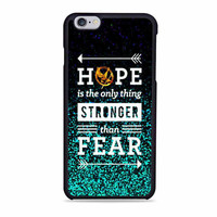 The Hunger games hope quotes movies Iphone 6s Case