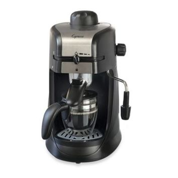 Capresso® Steam PRO 4-Cup Espresso & Cappuccino Machine