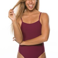 Kevin 2 Fixed-Back Onesuit - Cabernet