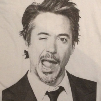 Robert Downey Jr Tank Top | Iron Man Tanktop