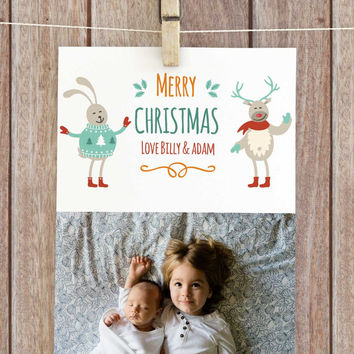Customised christmas cards, personalised christmas cards, family christmas cards, photo christmas cards, printable christmas card, xmas card