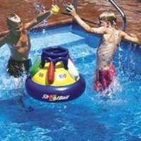 Amazon.com: Shootball Floating Pool Basketball Game Pool Float Toy: Patio, Lawn & Garden