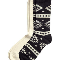 2-pack Ragg Socks - from H&M