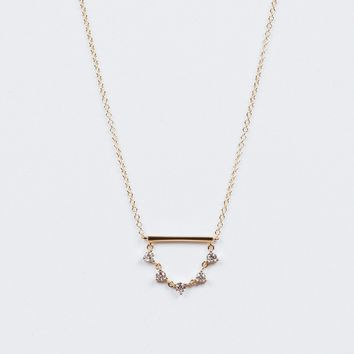 Swing Diamond Necklace