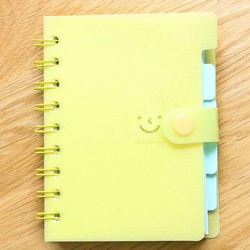 Emoji Spiral Notebook 105sheets