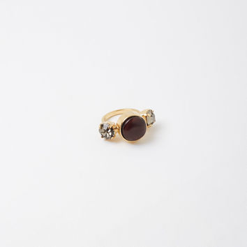 Horn Crystal Ring by Marni