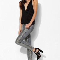 BDG Sequin Twig Mid-Rise Jean - Urban Outfitters