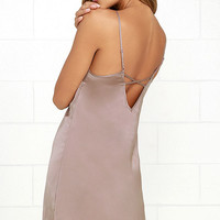 Gentle Fawn Jackie Mauve Slip Dress