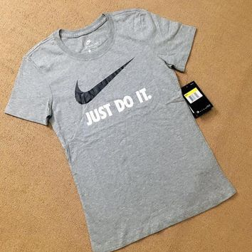 Nike JUST DO IT. Women Short sleeves Tee T-shirt