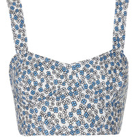 Petite Ditsy Floral Bralet - Sale - Sale & Offers - Topshop USA