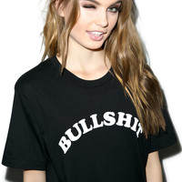 Kill Brand I Call Bullshit Short Sleeve Tee Black