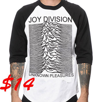 joy division white long sleeve t shirt from kulshirts on. Black Bedroom Furniture Sets. Home Design Ideas
