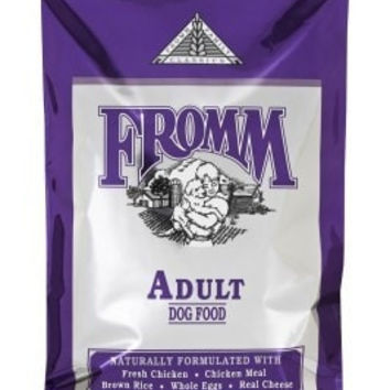FROMM DOG DRY - CLASSIC ADULT DOG 33LB -  - FROMM PET FOODS - UPC: 72705105212 - DEPT: FROMM PET FOOD
