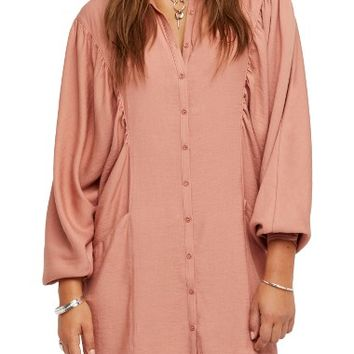 Free People Fade Away Shirtdress | Nordstrom