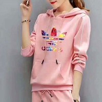 CREY2N ADIDAS Color printing letters - hoodies women TOP AND TWO PIECE SUIT I-MLDWX Tagre-