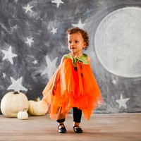 Baby Pumpkin Tutu Costume | Pottery Barn Kids