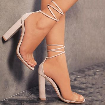 shoes Women Summer Shoes T-stage Fashion High Heel Sandals Sexy Stiletto Party beige Wedding Shoes White Black 6611W