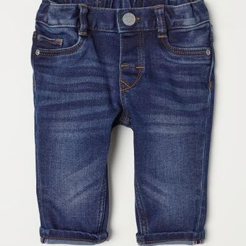 Slim fit Jeans - Dark denim blue - Kids | H&M US