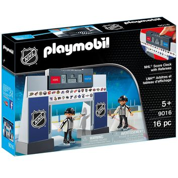 Playmobil 9016 NHL® Score Clock with 2 Referees