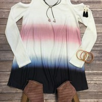 Wild Love Thermal Ombre Top