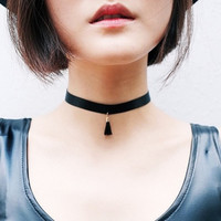 Tessil Choker Necklace Lace Gothic