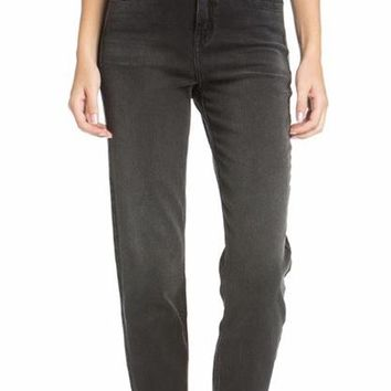 Vanessa Super High Rise Straight Boyfriend Jean