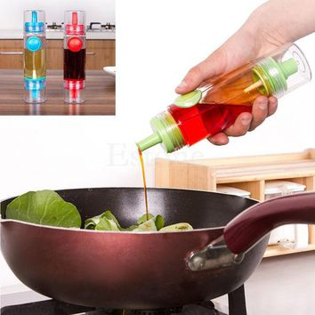 DCCKL72 Handy Sauce Kitchen Tool Oil Soy Vinegar Condiment Bottle Spray Dispenser BBQ -Y102