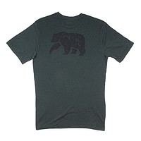 Worn in Bear Tee in Green Gables by The Normal Brand