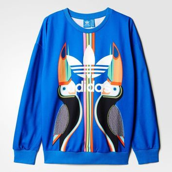 Adidas  iclover parrot fashion jacket