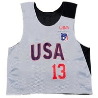 Women's Team USA Personalized Champion Practice Pinnie | Women's National Team | ShopUSLacrosse