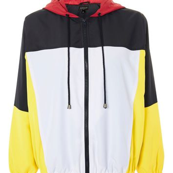 Colour Block Windbreaker Jacket | Topshop