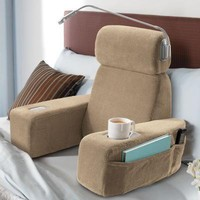 Brookstone® Massaging Bed Rest