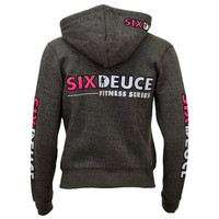 Six Deuce Dk. Grey Fitness Series Hood Sweatshirt