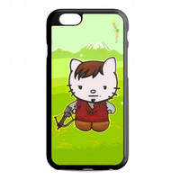 Cute Daryl Dixon Hello Kitty The Walking Dead For iPhone 6 case