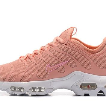 ... classic style 98966 5cd98 Nike Air Max Plus Tn Ultra Sport Shoes Casual  Sneakers - Pink ... a216513b3c