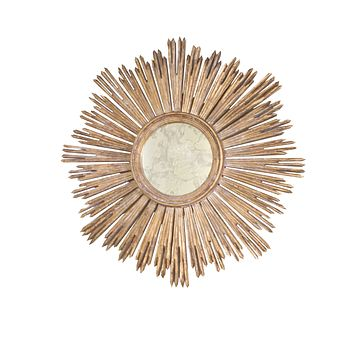 Worlds Away Margeaux Starburst Mirror