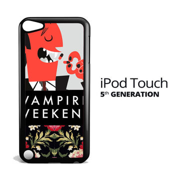 Vampire Weekend Flower Y2613 iPod Touch 5 Case