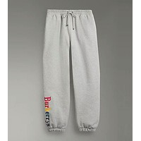 """""""Burberry""""Trending Women Colorful Letter Embroidery Drawstring Sport Stretch Pants Trousers Sweatpants I-ZYHFS"""