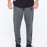 Adidas 3 Stripe Mens Sweatpants Charcoal  In Sizes