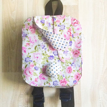 Toddler backpack, bunny backpack, kids backpack, mini backpack, best kids backpack, girls bag, girls backpack, personalized kids backpacks