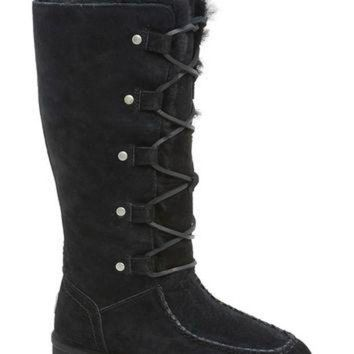 DCCK8X2 UGG? Australia 'Appalachian' Water-Resistant Lace-Up Tall Boot (Women) (Wide Calf) | N