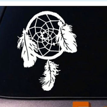 DREAMCATCHER Dream Catcher Native American Car Vinyl Decal Indian Sticker Teepee *C286*
