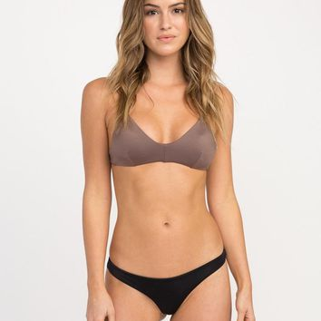 RvCA Solid Cross Back