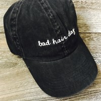 Bad Hair Day Hat- Black
