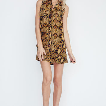 Olivaceous  Mini Dress