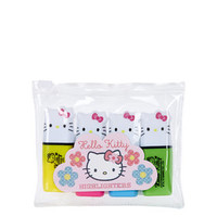 Pack of Four Hello Kitty Highlighters - Multi