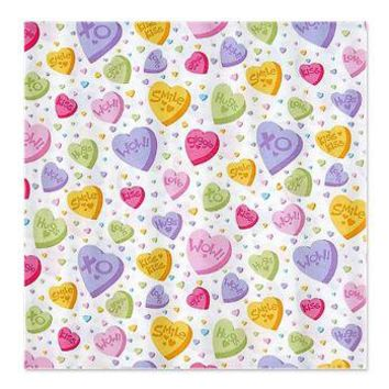 Valentines Candy Hearts Shower Curtain> Valentine's Day Gifts> A Little Bit Of This