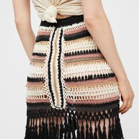 Free People Kent Knit Skirt