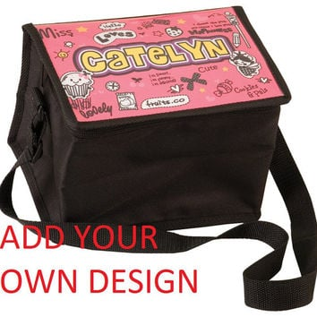 personalized custom insulated portable Cooler bag, keep your drinks cold, camping, outtings, add your desigh photo, logo, lunch bag